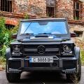 Mercedes G500 BRABUS Екстериор от карбон