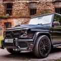Mercedes G500 BRABUS Интериор от карбон