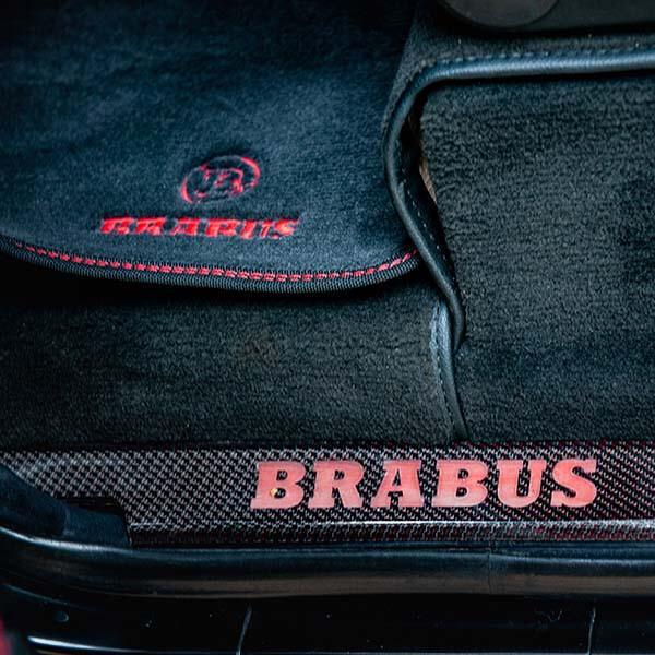 Mercedes G500 BRABUS Интериор от карбон Магазин Carbon Touch