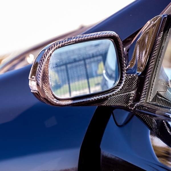 Карбонови капаци за огледала за Honda Civic Магазин Carbon Touch