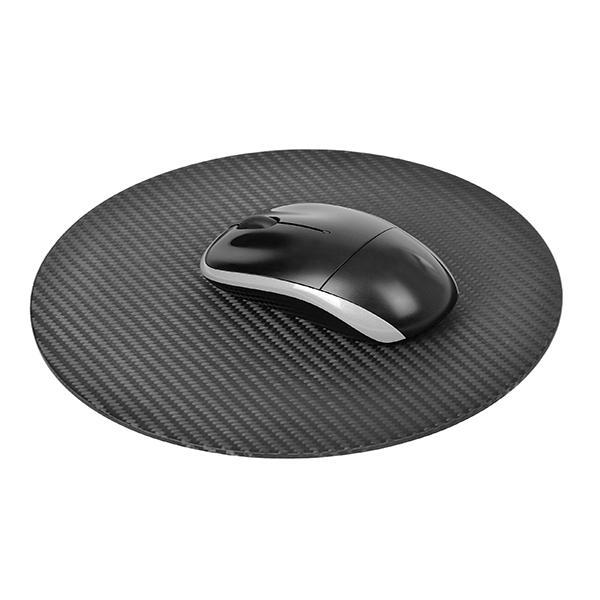 Carbon Fiber Mouse Pad Round