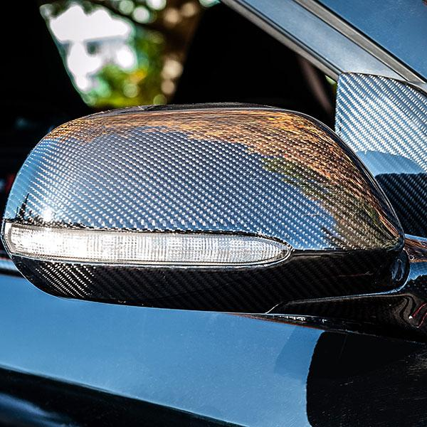 Carbon Fiber Honda Civic Mirror Caps