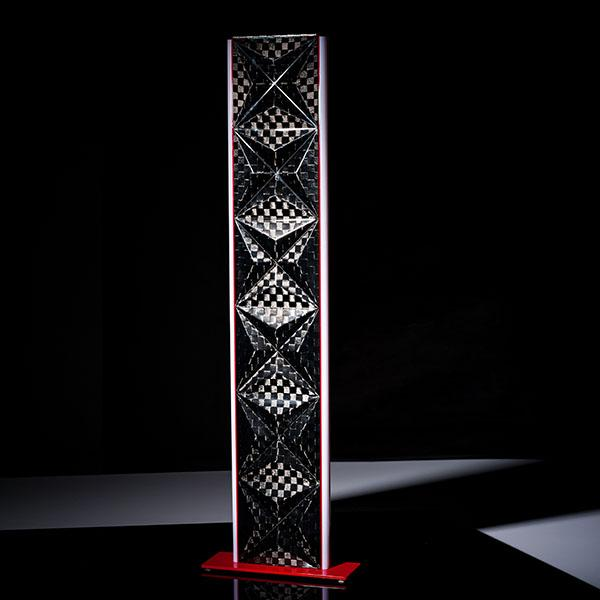 Carbon Fiber Big Floor Lamp