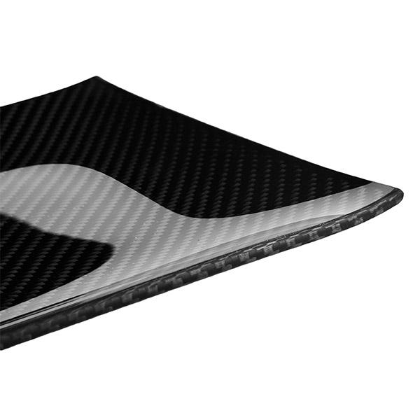 Carbon Fiber Dining Plate Rectangular 17 x 34 cm Shop