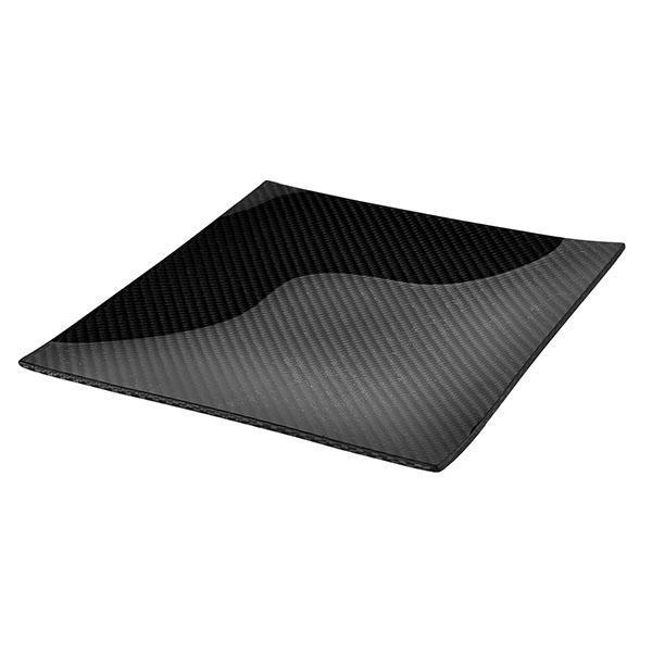 Carbon Fiber Dining Plate Square 20 x 20 cm Shop