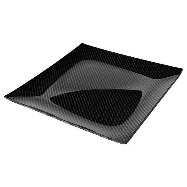 Carbon Fiber Dining Plate Square 30 X 30 CM Shop