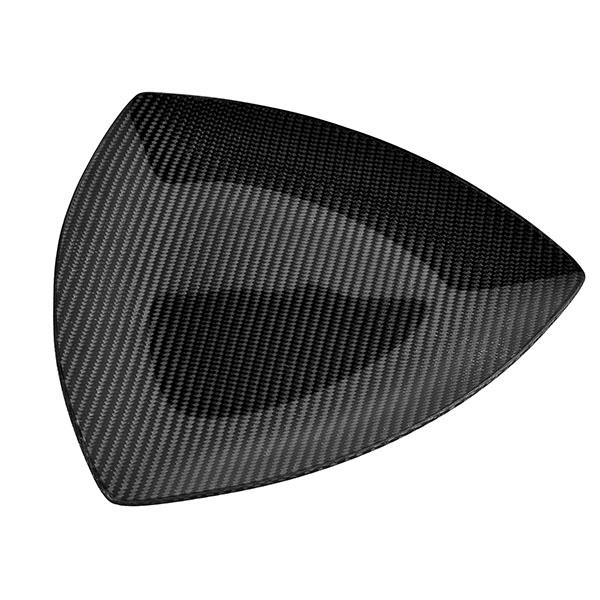 Carbon Fiber Dining Plate Triangle 19 X 19 X 19 CM Shop