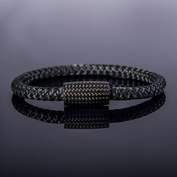 Carbon Fiber Bracelet Surf Cord Black Shop