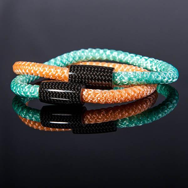 Карбонова гривна Surf Cord Mint Green Магазин Zak Code
