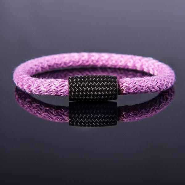 Carbon Fiber Bracelet Surf Cord Purple Shop