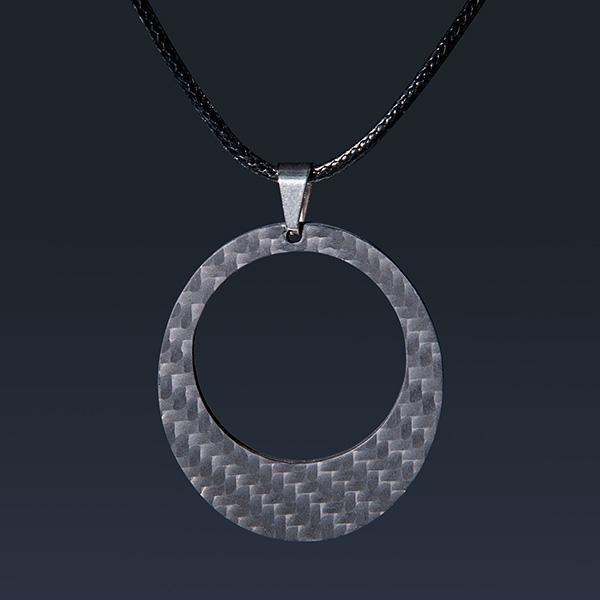 Carbon Fiber Pendant Ellipse Shop