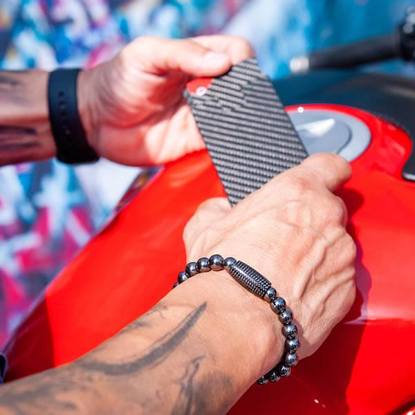 Carbon Fiber Bracelet Hematit Shop