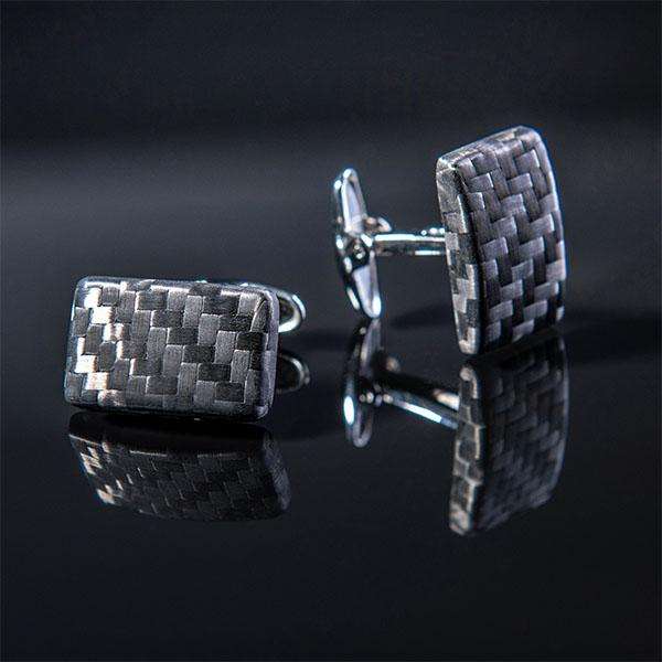 Carbon Fiber Cufflinks Premium  Shop