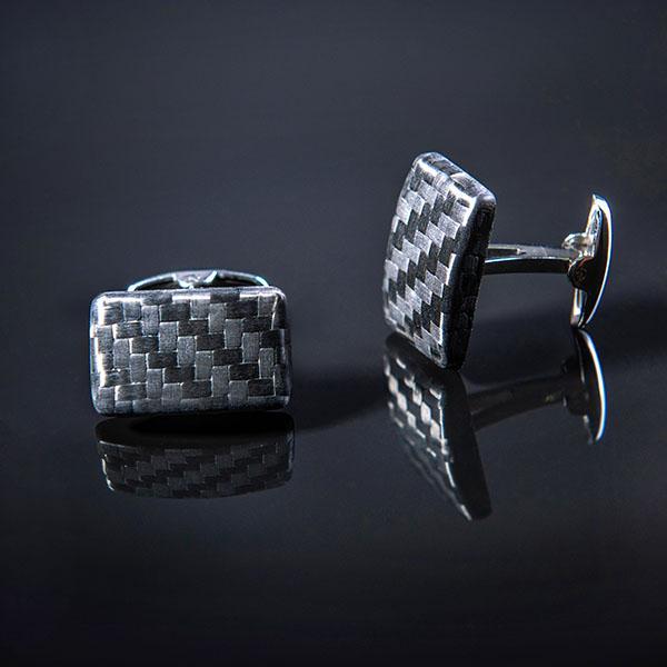 Carbon Fiber Cufflinks Premium  Shop