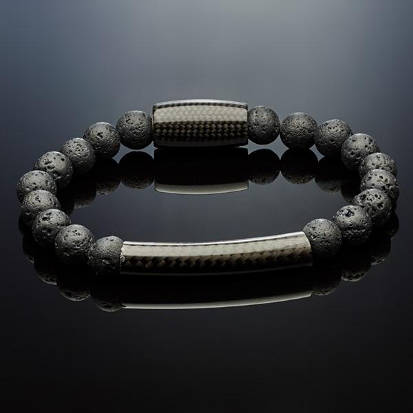 Carbon Fiber Bracelet Lava with Tube Shop