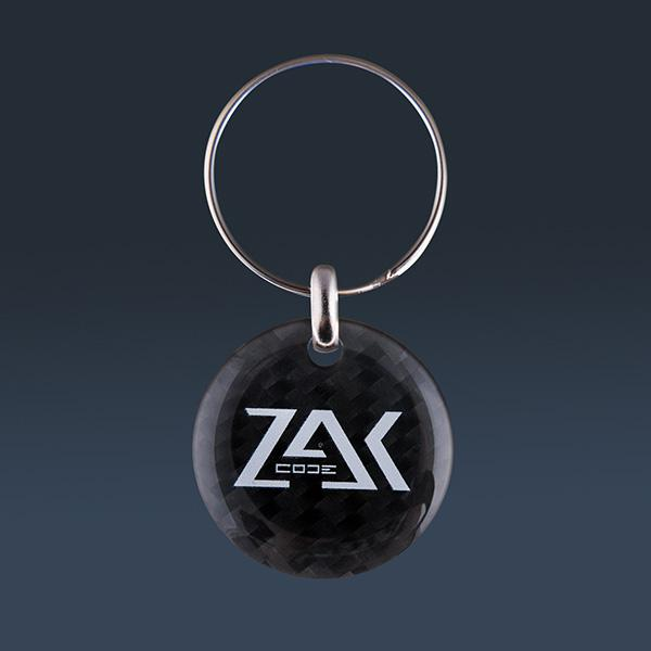 Carbon Fiber Key Holder Zak Code Shop