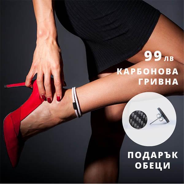 Карбонов комплект Double White Leather Bracelet Магазин Zak Code