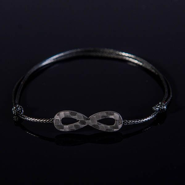 Carbon Fiber Bracelet Eternity  Shop Zak Code