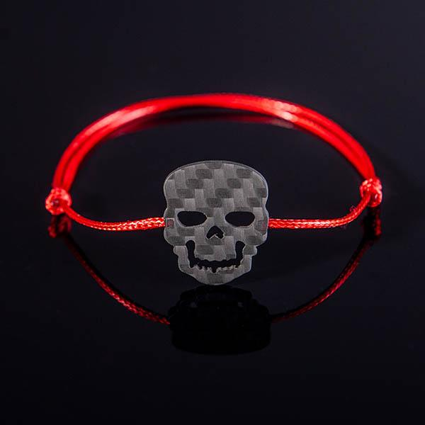 Карбонова гривна Skull Магазин Zak Code