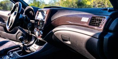 Употребата на карбон в интериорния дизайн на автомобила