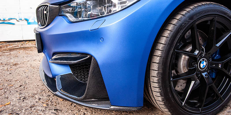 BMW M4 2019 карбонов тунинг екстериор