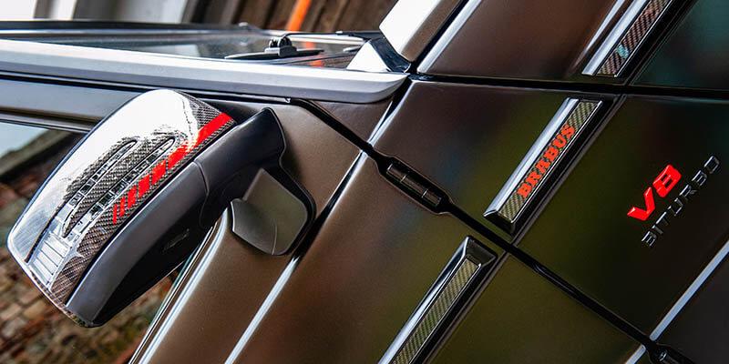 Оптичен тунинг Mercedes G class карбон