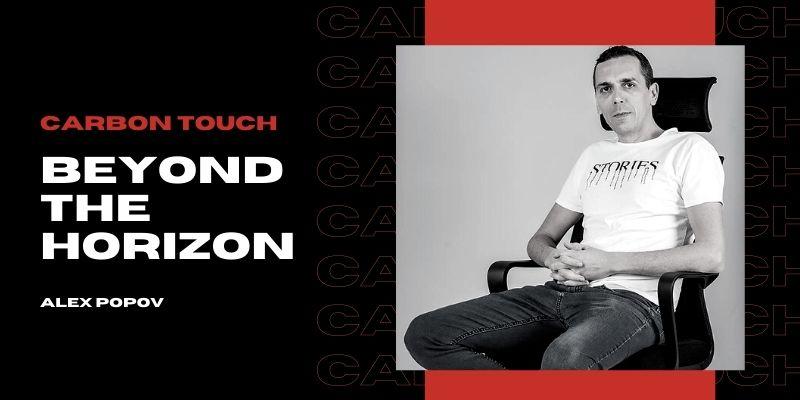 Carbon Touch manager Alex Popov