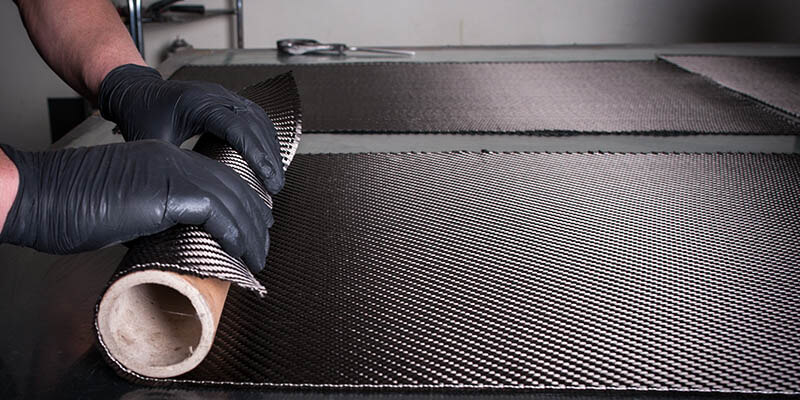 Carbon fiber wrap fabric - raw material